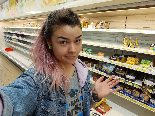 Co tu się stało? Na półkach od paru dni brakuje towaru i nic nie wiadomo.