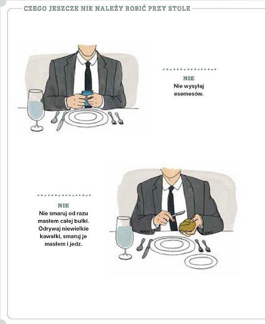 Jak zachować się przy stole
