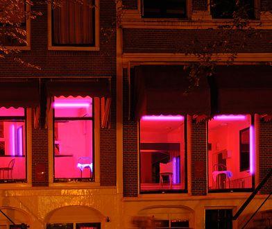 Dzielnica czerwonych latarni jest najpopularniejszą atrakcją w Amsterdamie