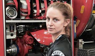 Zawód strażaka to w jej rodzinie tradycja