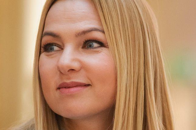 Katarzyna Bujakiewicz słynie z poczucia humoru