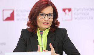 Szefowa Krajowego Biura Wyborczego Magdalena Pietrzak
