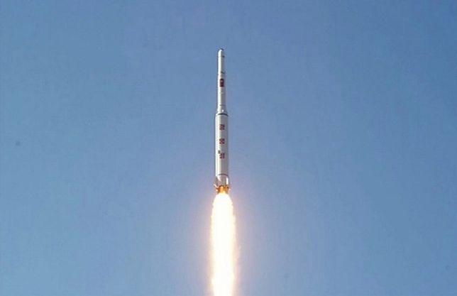 Korea Północna przeprowadziła udany test silnika rakietowego do wynoszenia satelity na orbitę