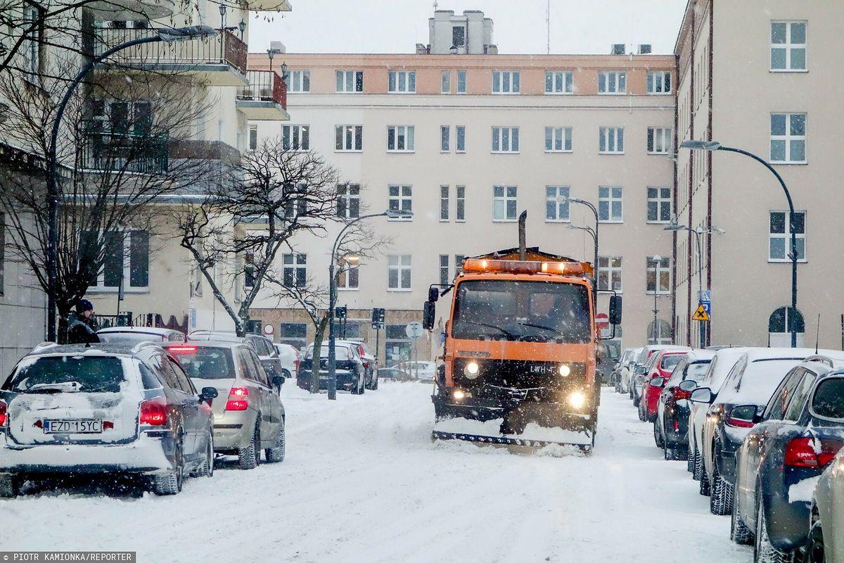 Zima w Polsce. Wir polarny przybiera na sile