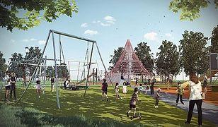 Magiczny Park na Białołęce - zobacz projekt