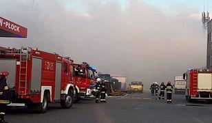 pożar straż pożarna ogień