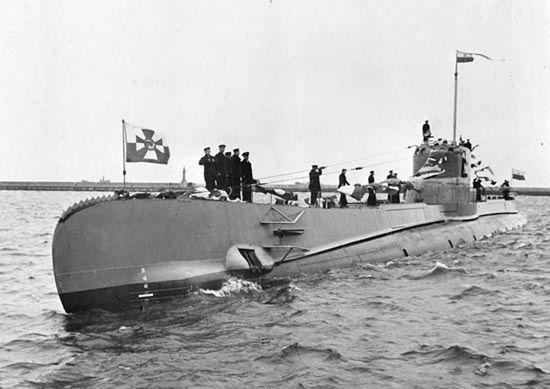 Brawurowa ucieczka polskiego okrętu