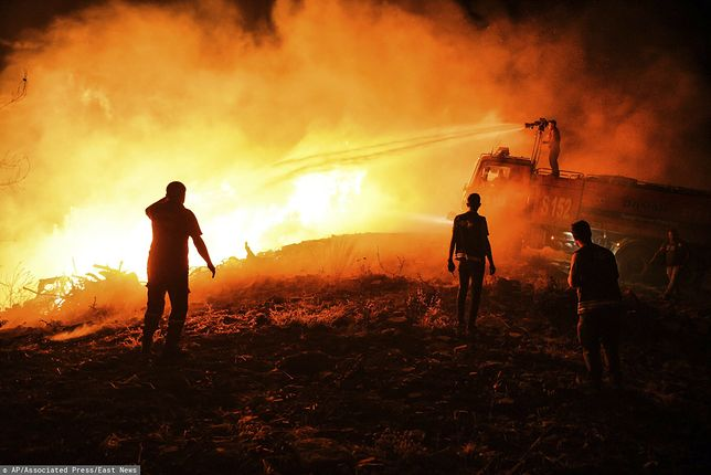 Podczas pożarów w Turcji zginęło osiem osób