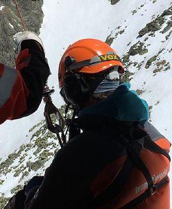 Tragiczny wypadek skialpinisty w Tatrach. Na Gerlach ruszyły służby