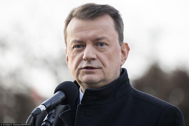"""Mariusz Błaszczak o polskim wojsku w Iraku. """"Decyzja zapadnie w gronie NATO"""""""