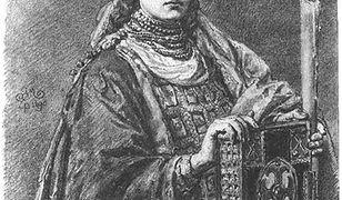 Portret czeskiej księżniczki Dobrawy, pierwszej polskiej księżnej