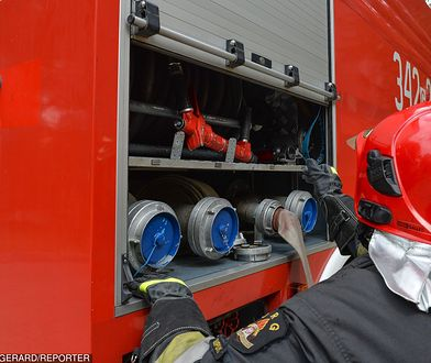 17 straży pożarnej na miejscu