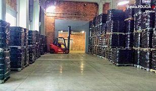 W Gliwicach odkryto nielegalne składowisko odpadów chemicznych