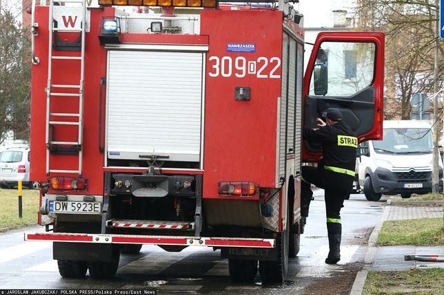 Pożar kamienicy w Opolu (zdjęcie ilustracyjne)