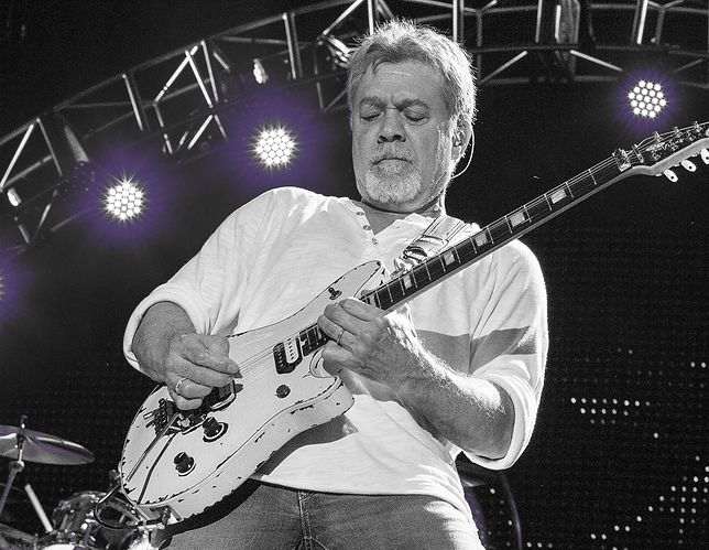 Eddie Van Halen (fot. Getty Images)