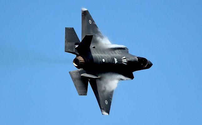 USA sprzedadzą ZEA myśliwce piątej generacji F-35