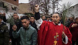 """Wierni """"podziemnego"""" kościoła w Chinach świętują Niedzielę Palmową"""