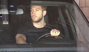 Calvin Harris w samochodzie