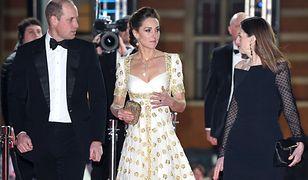 Książę William i księżna Kate na BAFTAch