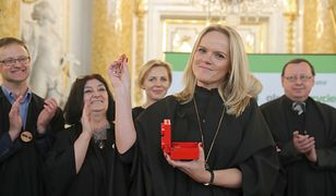 Zyta Czechowska dziękowała mężowi, córce i dziewiątce swojego rodzeństwa