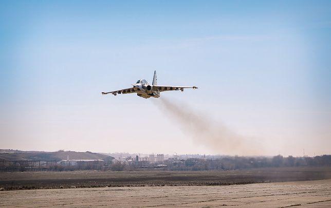 """Pierwszy """"nowy"""" gruziński Su-25"""