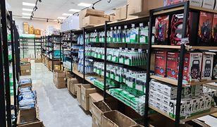 Mazowieckie. Produkty z podrobionymi znakami towarowymi w centrum handlowym