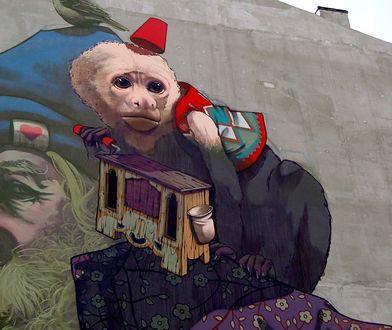 Fotostory: Nowy mural przy Dzielnej