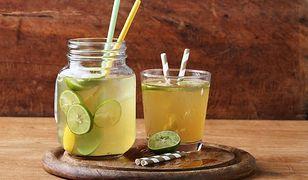 Domowy izotonik najlepszym napojem na upały