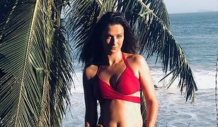Laura Breszka w bikini