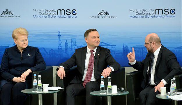 Debata na temat bezpieczeństwa z udziałem prezydenta Andrzeja Dudy w Monachium