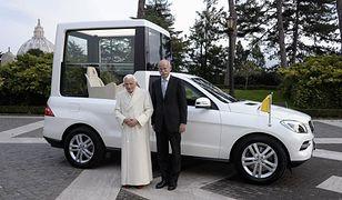 Nowy papamobile od Mercedesa