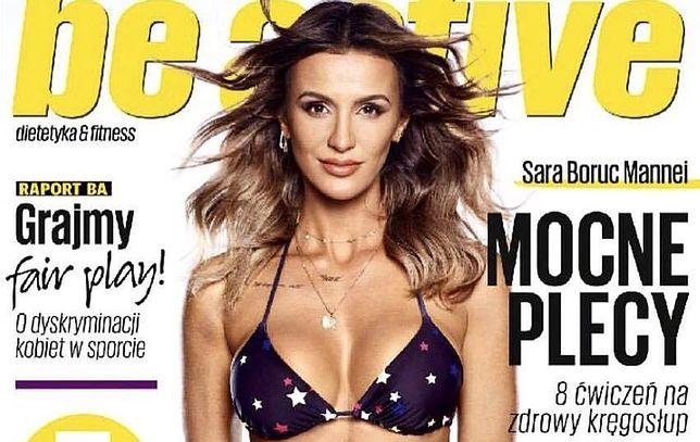 Sara Boruc w bikini na okładce magazynu. Tłumaczy się ze swojej miny