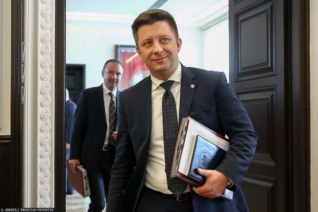 Michał Dworczyk tłumaczył, dlaczego są problemy z rejestracją