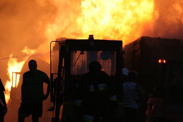 Pożar ugaszono dopiero po 3 godzinach