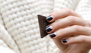 Czarne paznokcie są eleganckie i szalone