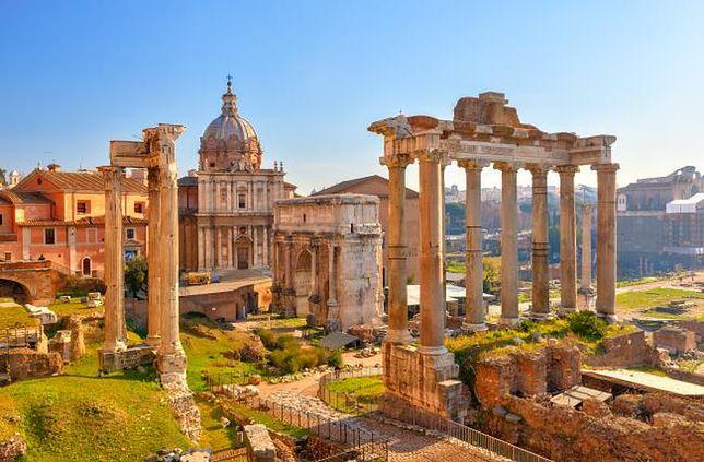 Rzym - dzień 1. od Placu Weneckiego do Fontanny di Trevi