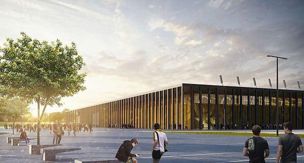 Katowice. Projekt stadionu opracowało biuro RS Architekci z Rudy Śl.