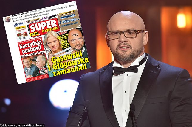 """Sławomir Jastrzębowski, redaktor naczelny Super Expressu, publikacją listy klientów """"dilera gwiazd"""" chce wywołać trzęsienie ziemi w showbiznesie."""