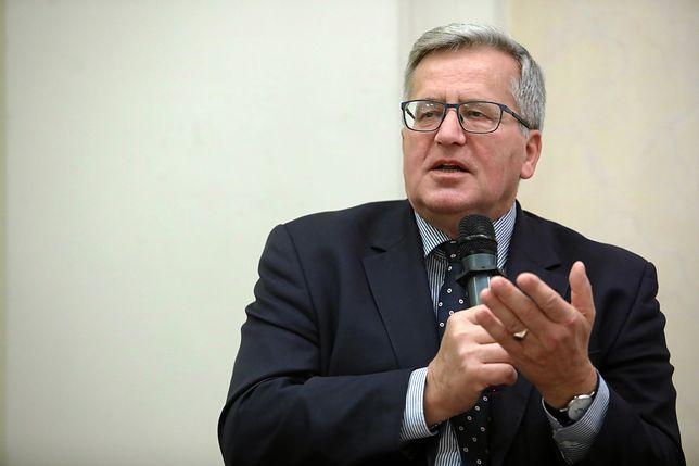 """Bronisław Komorowski: """"Mógłbym być eksponatem w muzeum wypędzeń w Europie"""""""