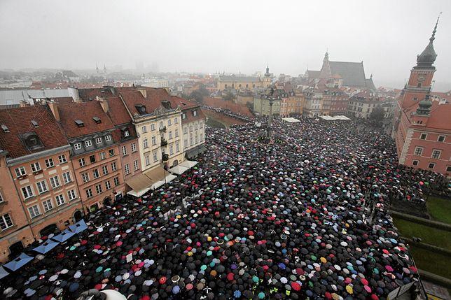 Czarny Protest pod lupą śledczych. Doniesienie złożył ONR