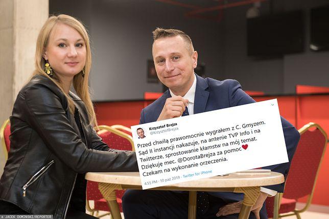 Wybory parlamentarne 2019. Krzysztof Brejza wygrywa z Cezarym Gmyzem