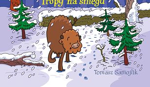 Żubr Pompik. Tropy na śniegu
