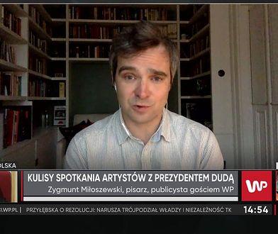 Zygmunt Miłoszewski chce zmian w prawie. Mają one znacznie pomóc artystom
