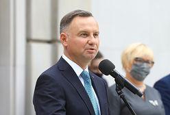 Andrzej Duda razem z żoną złożyli życzenia na Dzień Dziecka. Wideo w sieci