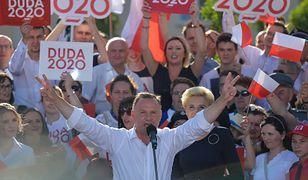 """Wybory prezydenckie 2020. Andrzej Duda na ostatnim wiecu wyborczym. """"Bierzemy sprawę w swoje ręce"""""""