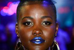 Niebieskie usta Lupity Nyongo