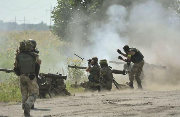 Zacięte walki z separatystami w Doniecku