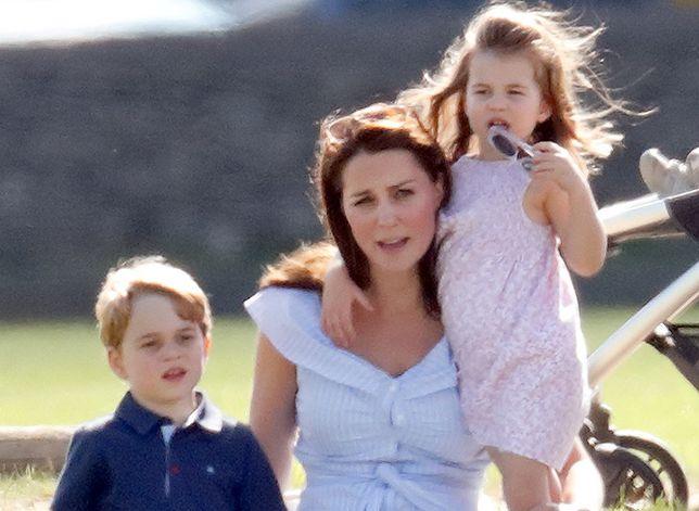 Kate Middleton z dziećmi