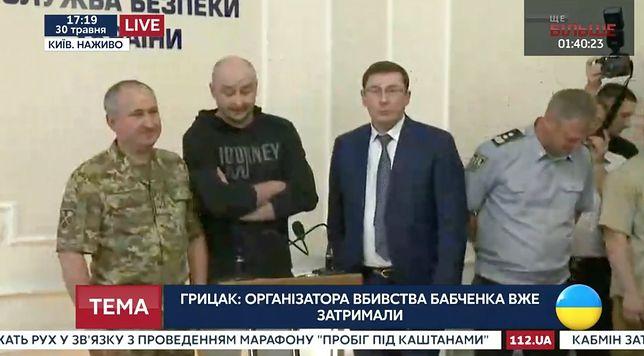 Arkadij Babczenko pojawił się na konferencji prasowej