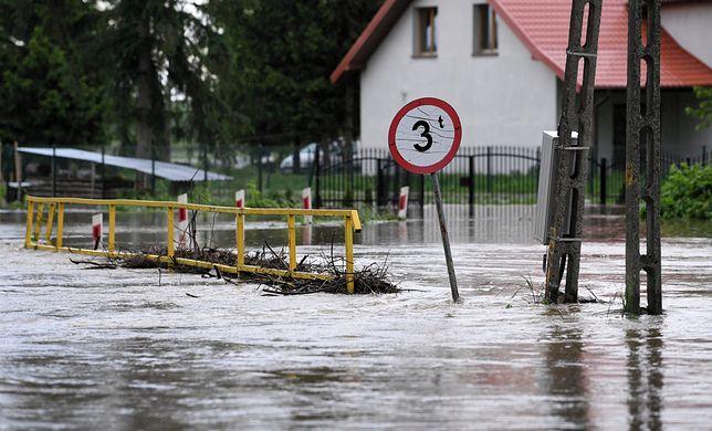 Podtopienia i zagrożenie powodziowe